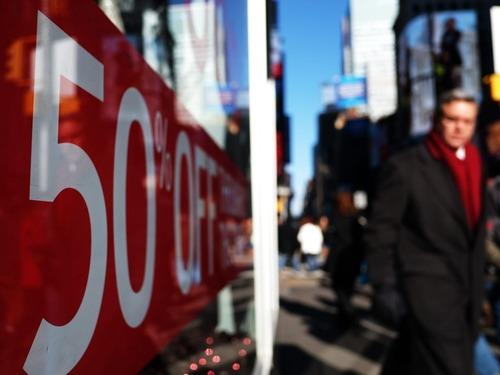 纽约联储预测:美国GDP增速将刷新低