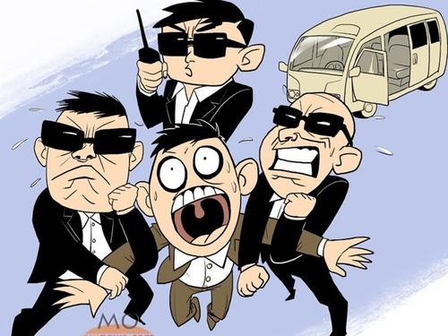 中国公安部:警察要习惯镜头下执法