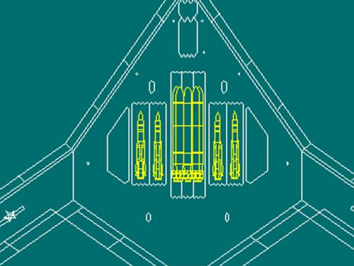 弹舱布局曝光 图解中国隐身轰炸机