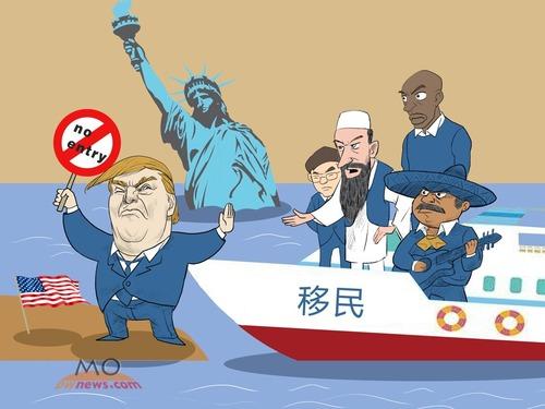 特朗普驱逐千万移民 中国人被指下一个