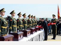 中韩举行第四批志愿军遗骸交接仪式 [图集]