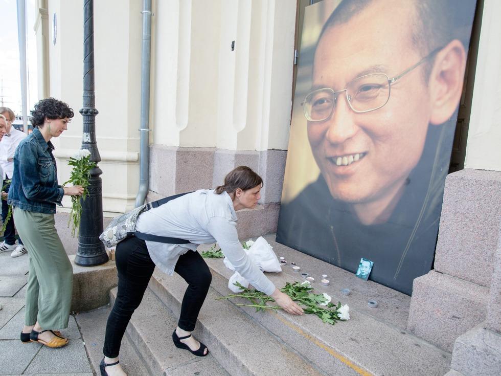 中国湖南民主党观察:刘晓波之死 CNN揭中国媒体反常一幕