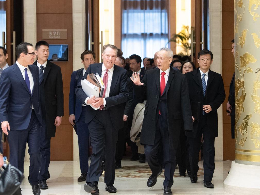 首次会见美国贸易代表团 习近平话里有话(图)