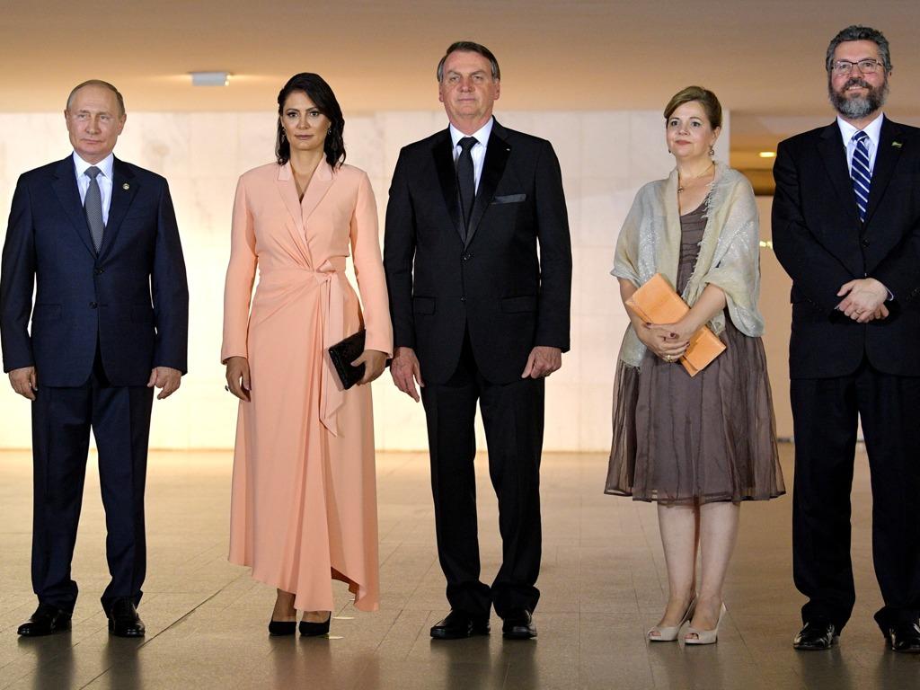 巴西总统为金砖国家领导人及夫人举行欢迎宴会[图集]
