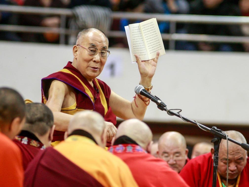 達賴喇嘛的聲望已經衰退(圖源:AFP)