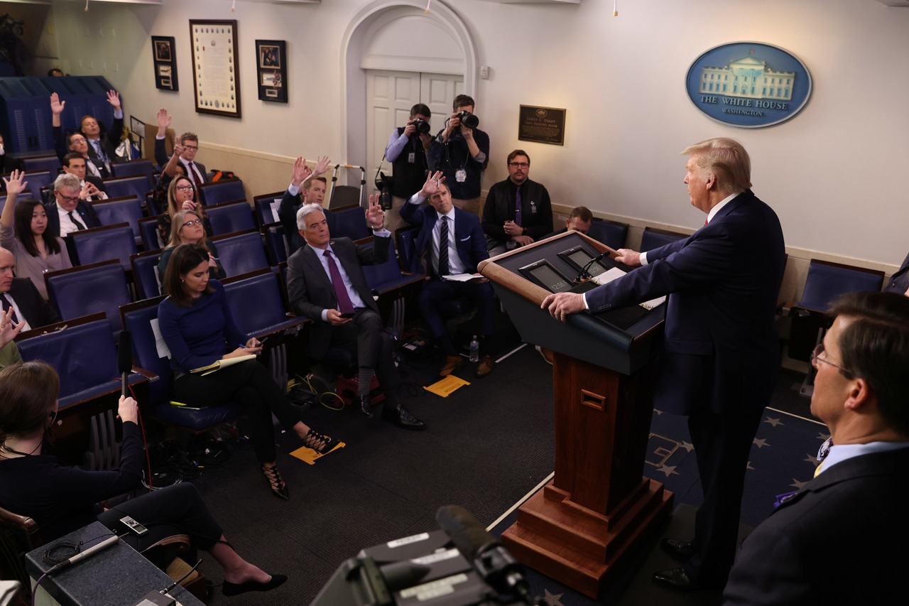 White House to Require Journalists Covering Daily Briefing to Receive Coronavirus Tests